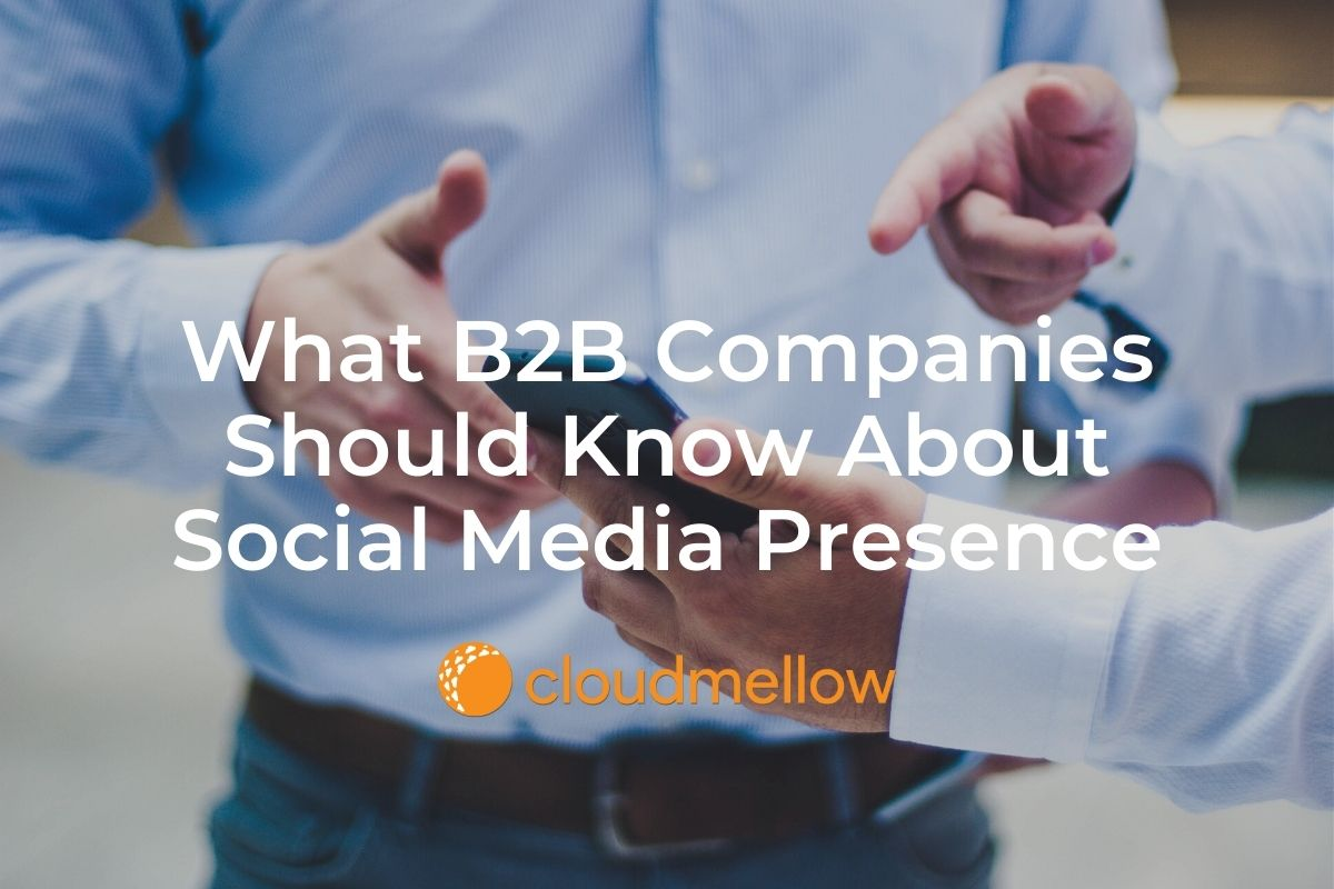 What B2B Companies Should Know About Social Media Presence